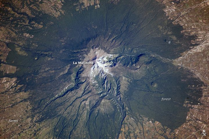 La Malinche Volcano: Though there are no historical accounts, geologic evidence suggests an eruption about 3,100 years ago affected Pre-Columbian settlements in Mexico.