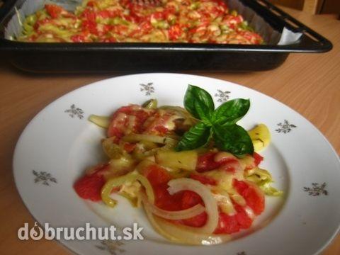 Fotorecept: Pečená zelenina