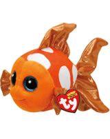 Ty Glubschi Beanie Boo´s peluche poisson-clown sami 15 cm 37176