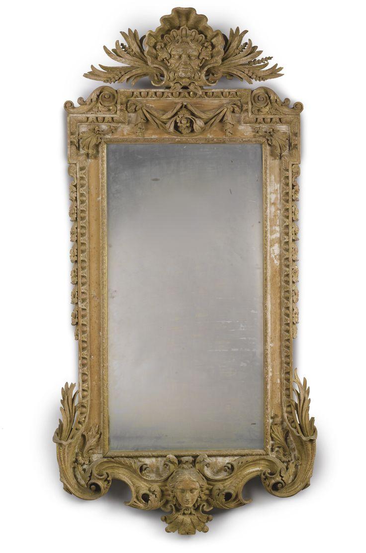 A George II Giltwood pier mirror circa 1735
