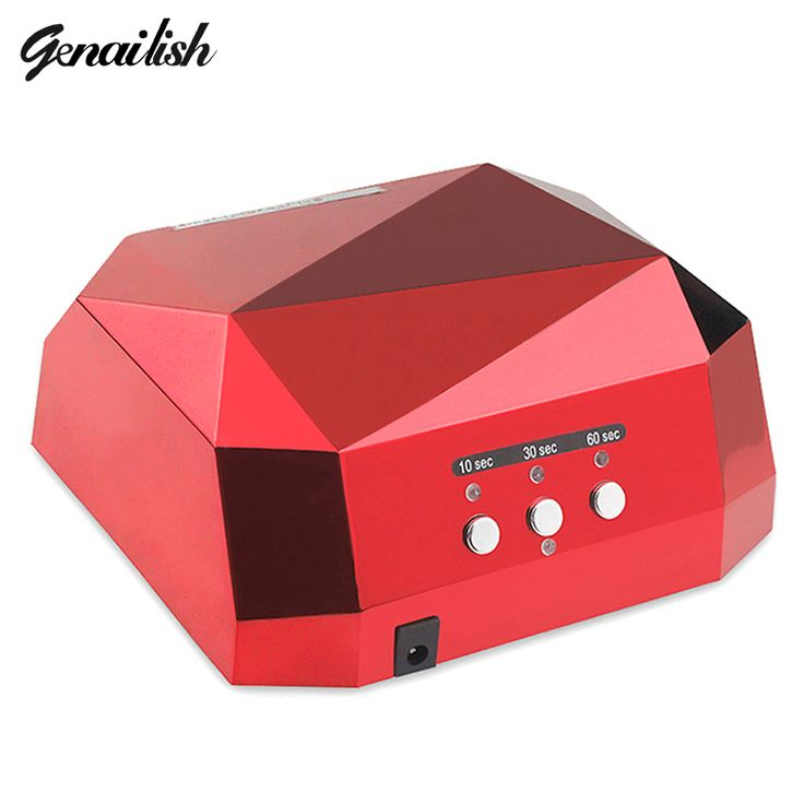Nail Dryers  genailish 36W UV Lamp Nail Dryer UV LED Lamp for Nails Gel Dryer Nail Lamp Diamond Shape Curing for UV Gel Polish Nail Art Tools *** Find out more on AliExpress website by clicking the image