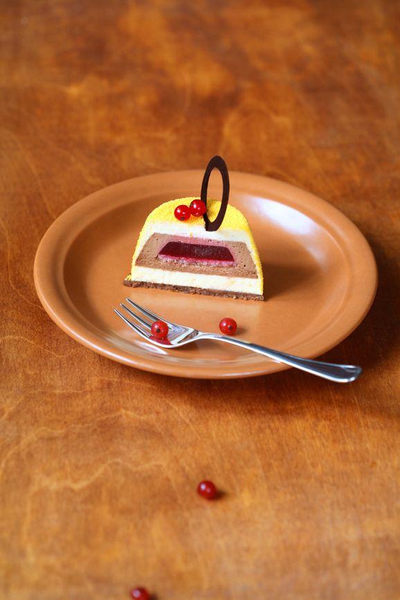 A receita em português está em baixo.   Два шоколада, апельсин и красные ягоды... Как говорится, и пусть весь мир подождёт.. ! )))    ...