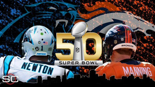 Super Bowl 50 - Panthers vs Broncos