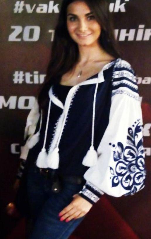 Аліна Башкіна Ukrainian beauty folk fashion
