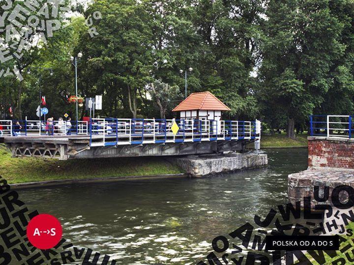 Giżycko - most obrotowy. #travel #poland #gizycko #mazury