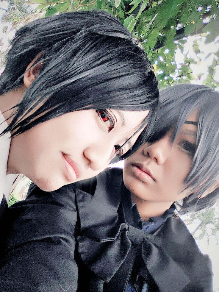selfie - Kuronami Caeruleus (Kuronami 黒波) Ciel Phantomhive Cosplay Photo - Cure WorldCosplay