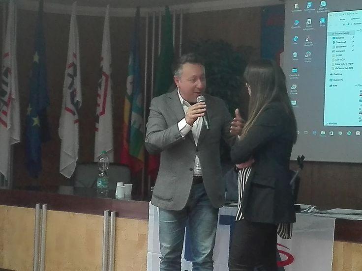 Gigi Salvati, Responsabile Organizzativo del CTA Nazionale.