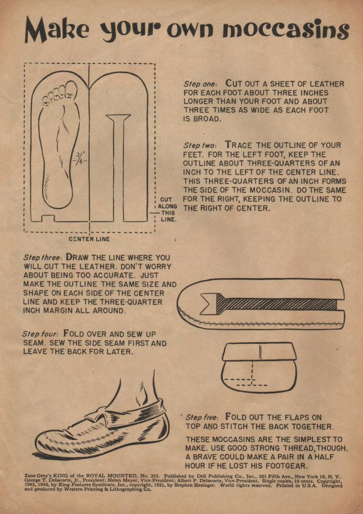How To Make Size Six Crochet Shoe