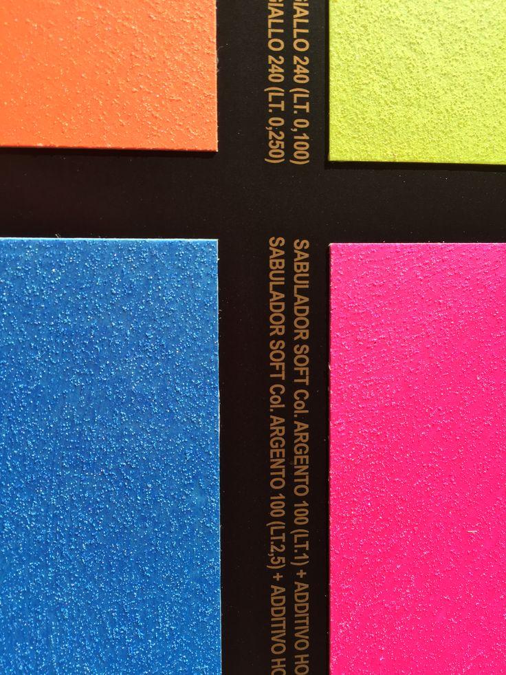 Fluorescent colors