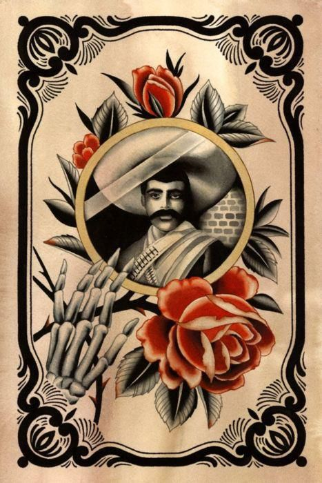 119 best images about emiliano zapata my mom 39 s family on for Emiliano zapata tattoo