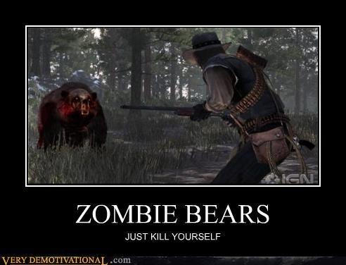 zombie bears: Zombies Bears, 01 Zombies, Incr Zombies, Zombies Bo2, Zombies Addiction, Zombies Humor, Funny Stuff, Bears Zombies, Zombiebearsjpg 600458