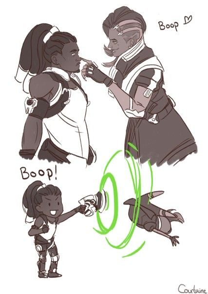 I like the joke but it better not be a ship Lucio x D.VA is to good