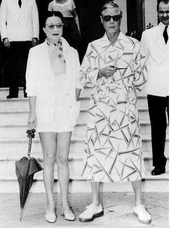 HRH The Duke of Windsor (formerly King Edward VIII) and the Duchess of Windsor