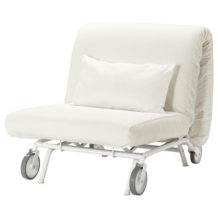 Chaise Lounge Sofa IKEA PS L V S Fotelja na razvla enje Gr sbo bijela Meditation ChairSleeper
