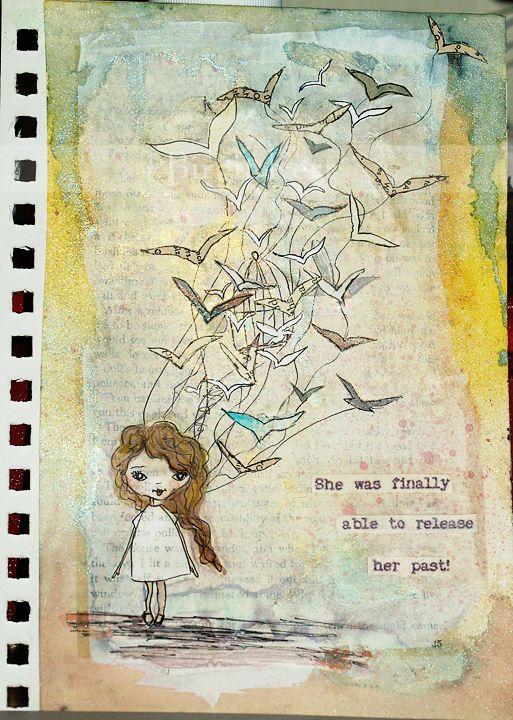 Birgit's Daily Bytes: Art Journaling