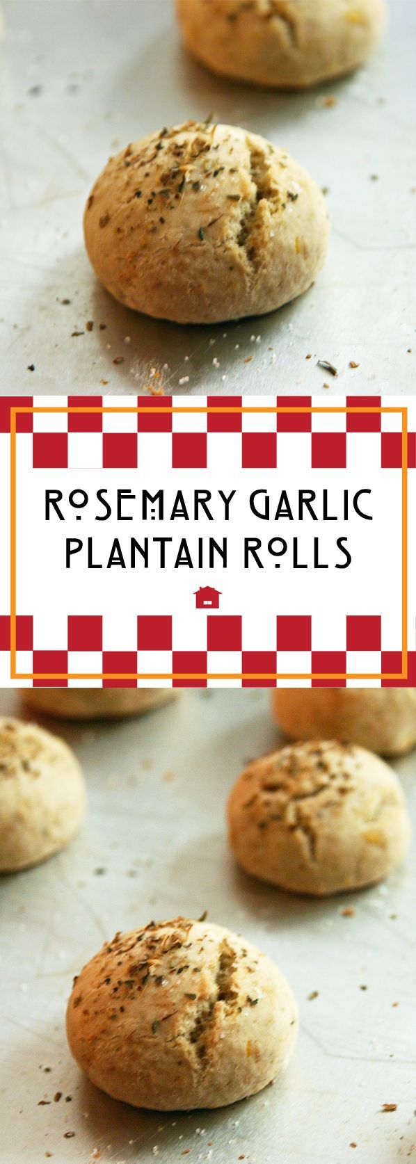Rosemary Garlic Plantain Rolls