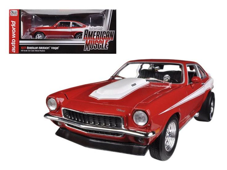 1971 Chevrolet Vega Baldwin Motion Limited Edition 1250pc 1/18 Diecast Model Car by Autoworld
