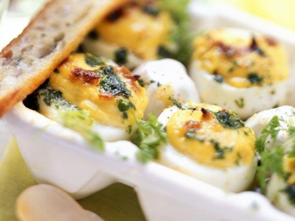 Gevulde eitjes uit de oven - Libelle Lekker!