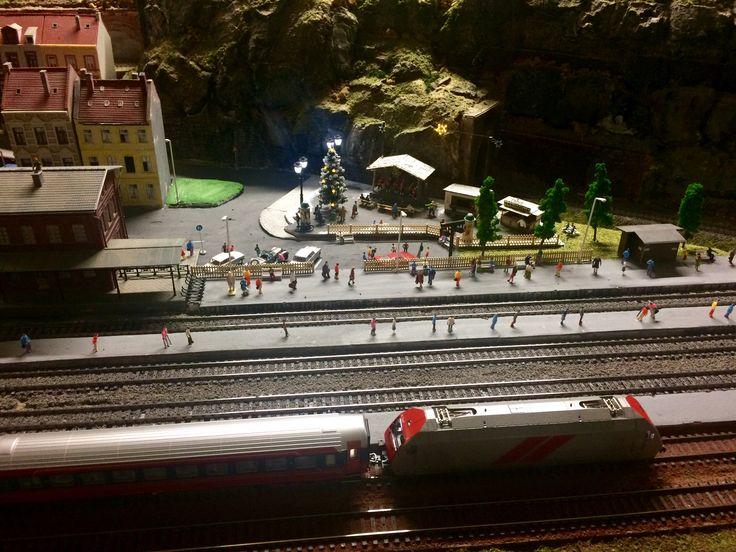 Рождественский музей с поездами в Норвегии 🚂🚂🚂🎄❄️☃️