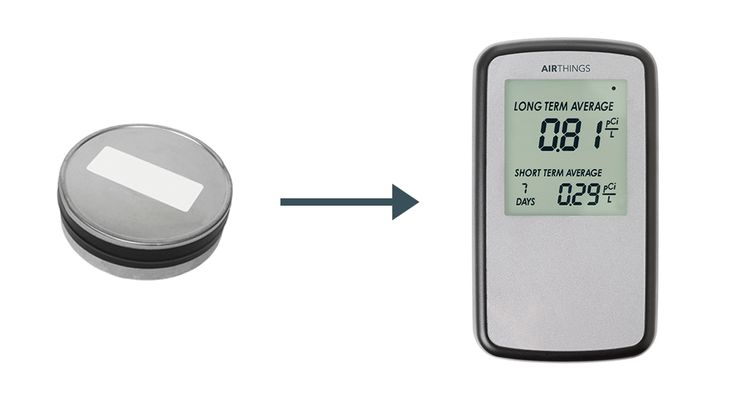Radon Test Kit Goes Digital - SEE THE DIFFERENCE!