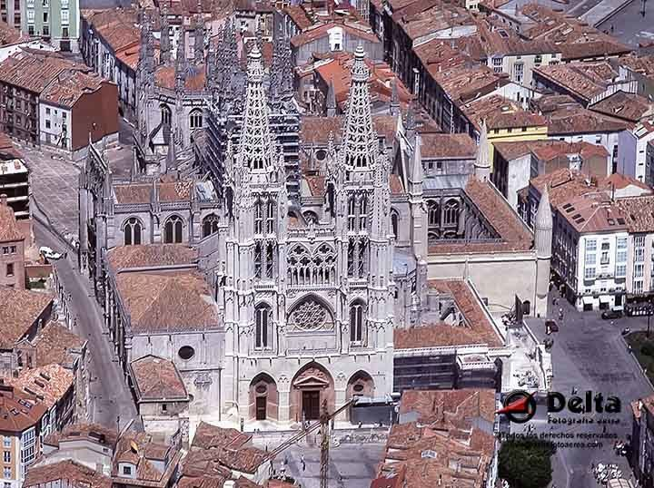 Catedral Burgos-España. ©Delta Fotografia Aèria.