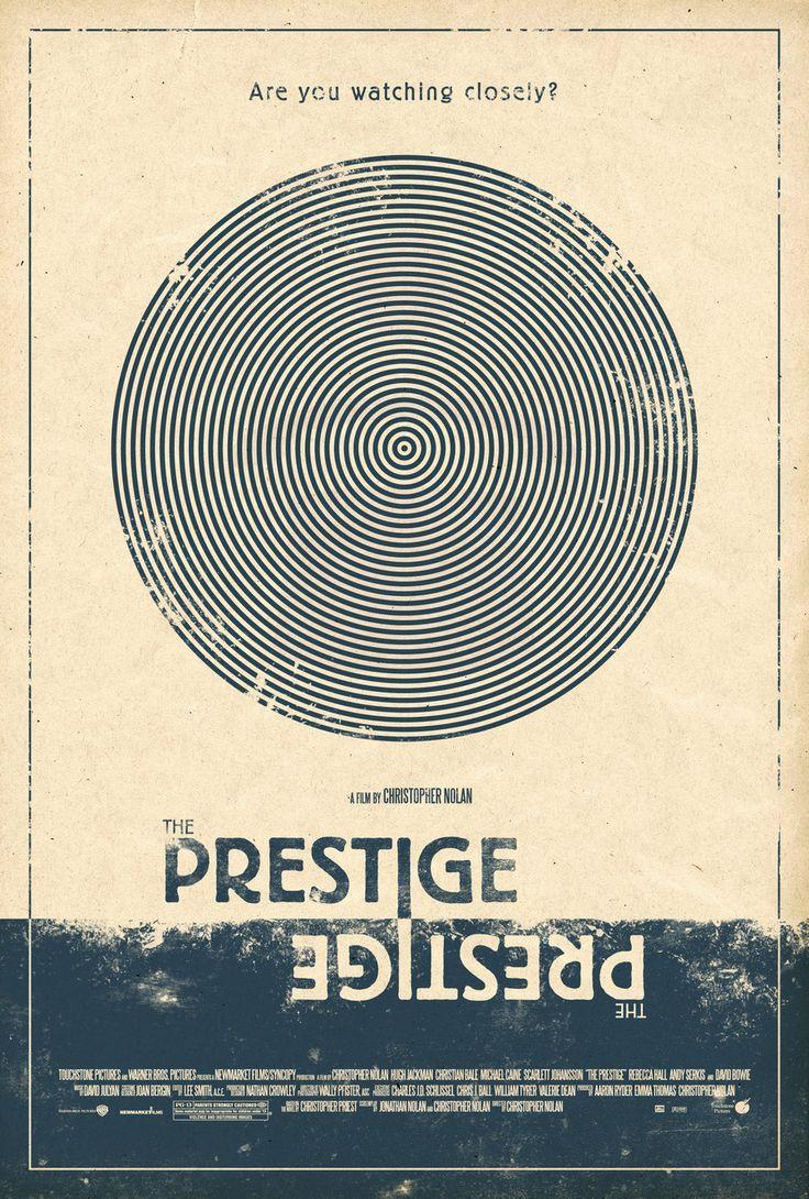 The Prestige Poster by adamrabalais.deviantart.com on @DeviantArt