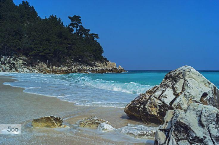 Saliara Beach, Thassos by Nicolas Mitkanis on 500px