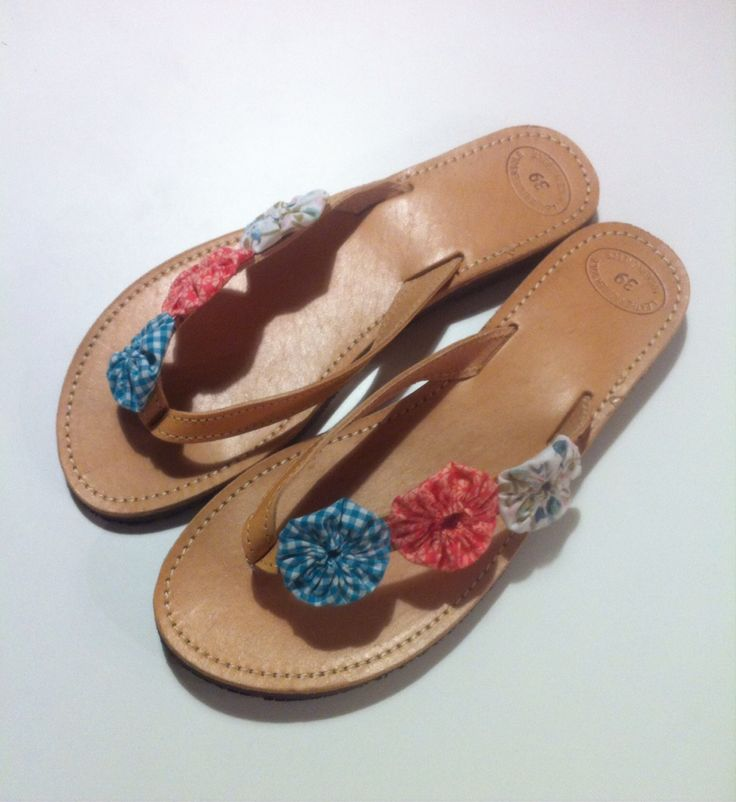 Leather Sandals by My Patchwork Place