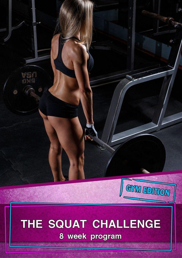 the squat challenge 8 week gym edition pdf