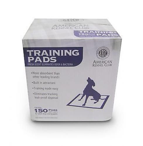 AKC Puppies Dogs Training Pads Fresh Scent Pack of 150 American Kennel Club New #AmericanKennelClub #Freshscent