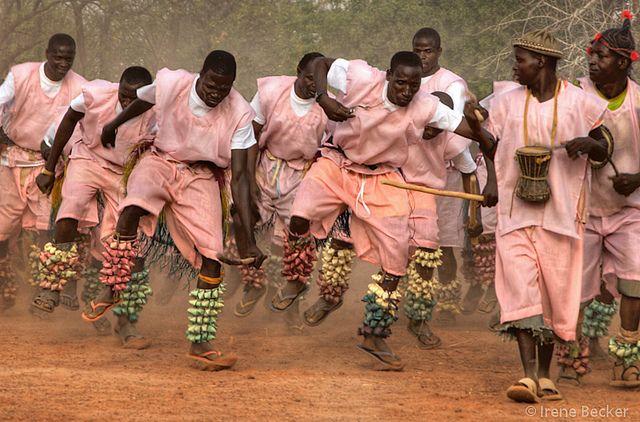 Sharuwa Dancers by Irene Becker