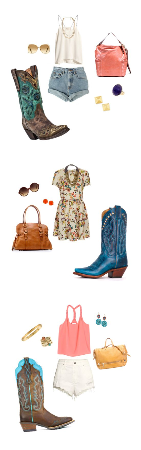 Bright bold blue is hot for summer. Not sure how to pull off those unique blue boots? Boost your style and confidence, and beat those blues by following our simple guide - Into Hue: Blue Boots   Country Outfitter