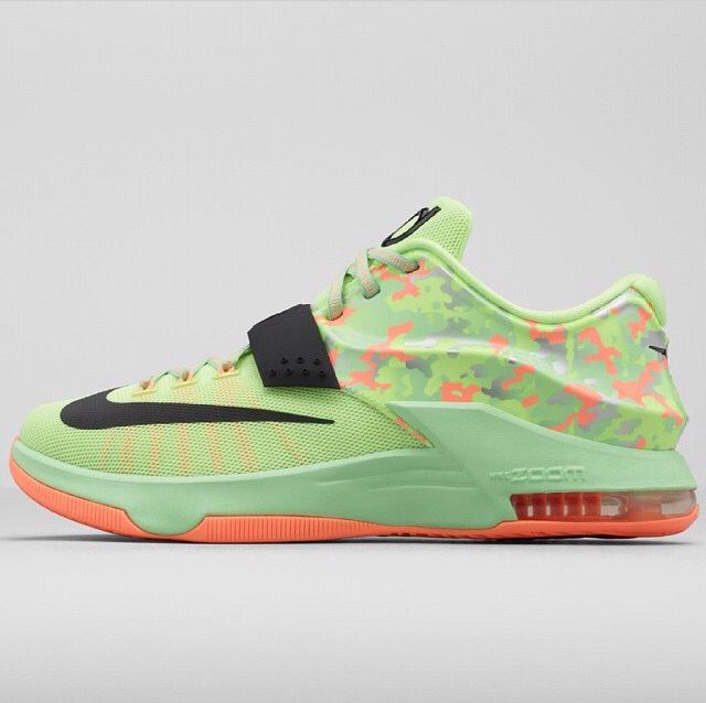 a240748043 purchase nike kd 7 easter green orange sneakers be7bb 2a849