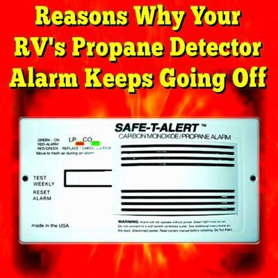 reasons why your rv 39 s smoke detector alarm keeps going off in most cases the detector is. Black Bedroom Furniture Sets. Home Design Ideas