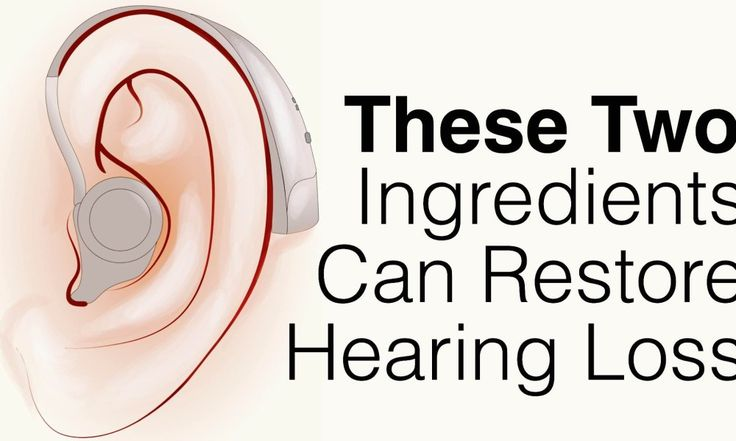 Have you or someone you know experienced hearing loss? Many people swear they've restored hearing loss with these two things...