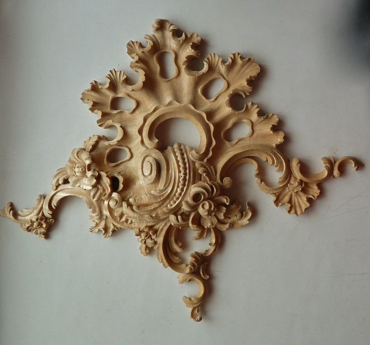 Agrell Architectural Carving Hand Carved Rococo Деревянная скульптура Декор Резьба по дереву