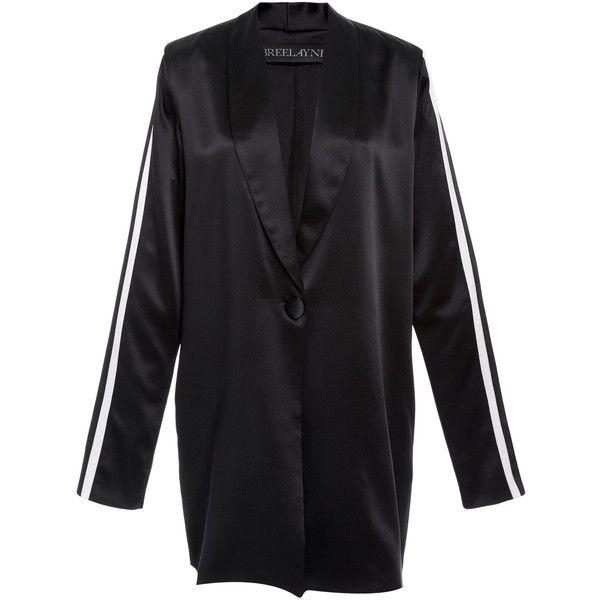 Siouxsie Sporty Luxe Boyfriend Blazer | Moda Operandi ($1,890) ❤ liked on Polyvore featuring outerwear, jackets, blazers, blazer, blazer jacket, boyfriend blazer, boyfriend jacket and boyfriend blazer jacket