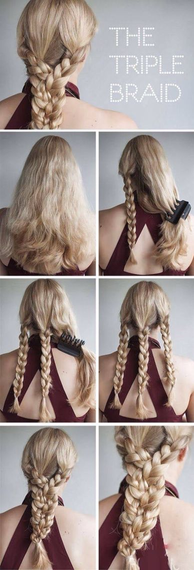 24 best images about How to braid your own hair on Pinterest