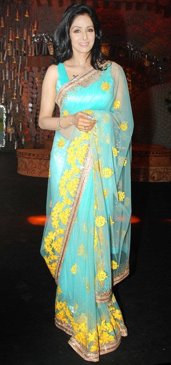 Why Sridevi is not smiling? | Photo Gallery - Yahoo! OMG! India