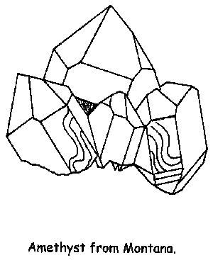 rocks and minerals coloring pages - how to draw amethyst geodes the the rock black and