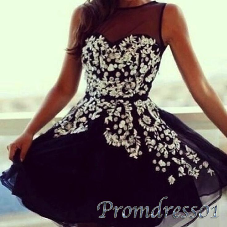 Prom dresses short, maxi dress, vintage dresses for teens, Cute dark blue round neck mini party dress from #promdress01 #promdress http://www.promdress01.com/#!product/prd1/4236218591/cute-dark-blue-round-neck-mini-prom-dress%2C-gown