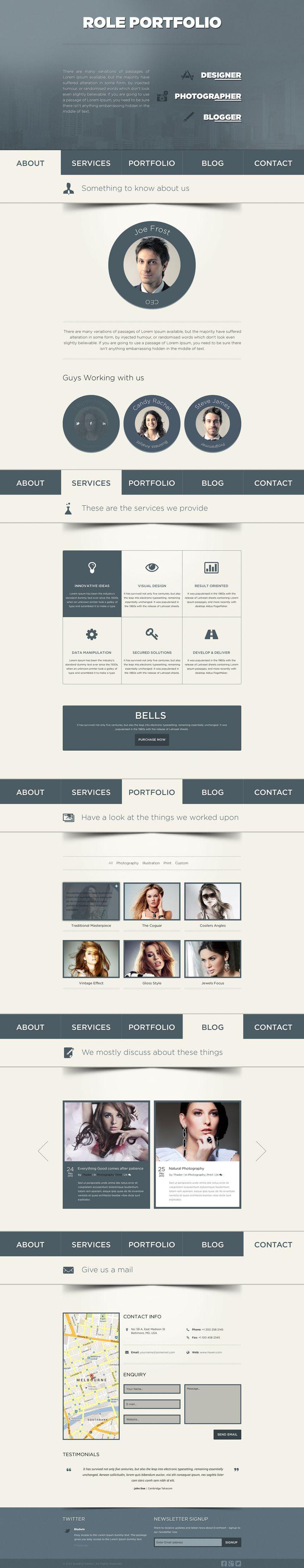 108 best Wordpress Theme images on Pinterest | Website designs ...