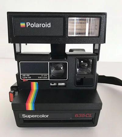 Cámara instantánea Polaroid 635 CL Supercolor