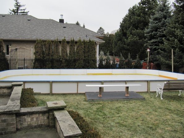 Backyard ice rink  Our backyard rink projects  Pinterest  Ice Rink