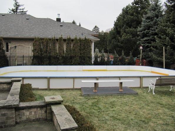 Backyard Rink Resurfacer : Backyard ice rink  Our backyard rink projects  Pinterest  Ice Rink