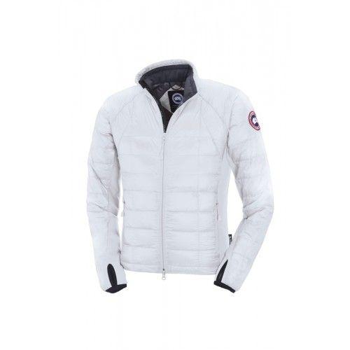 Mens Canada Goose Hybridge Lite Jacket White