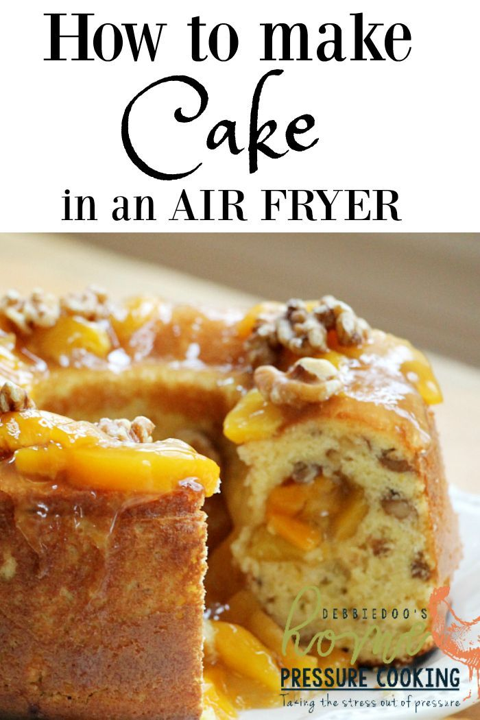 How to make a cake in the Air fryer Home Pressure