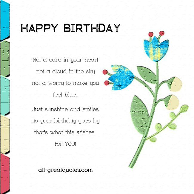 205 Best Images About Happy Birthday, Family & Misc Quotes