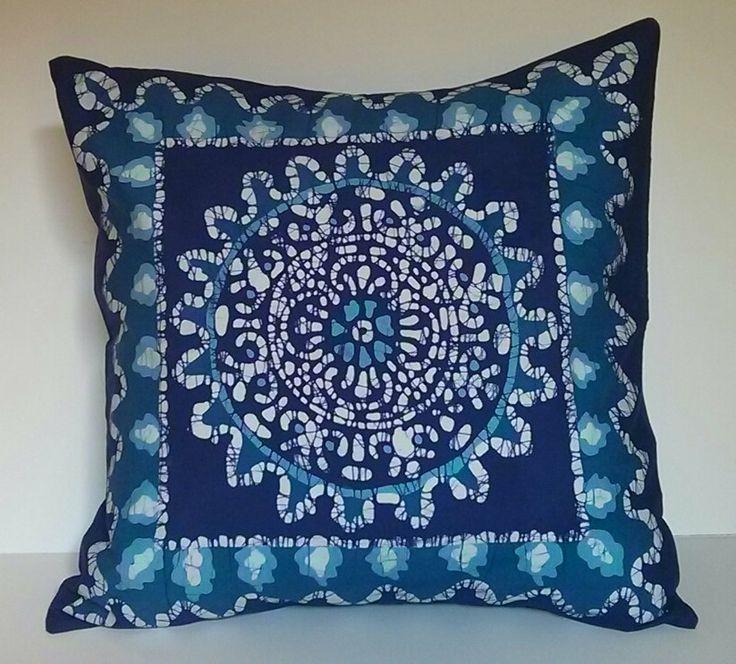 Cushion Throw Pillow Cover Batik Decorative By