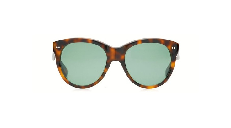 Oliver Goldsmith Manhattan c.Dark Tortoiseshell Sunglasses - the exact glasses Audrey Hepburn wore in Breakfast at Tiffany's. Certainly purchasing these when I have a spare four hundred dollars :)